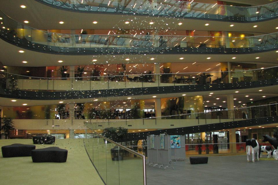 Зал штаб-квартиры Arla в Дании