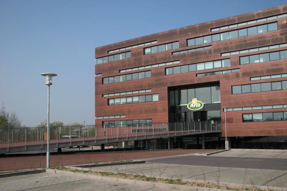 Здание штаб-квартиры компании Arla в Дании
