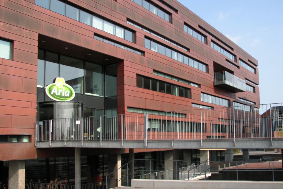Штаб-квартира Arla. Фото 21 апр. 2018, г. Орхус