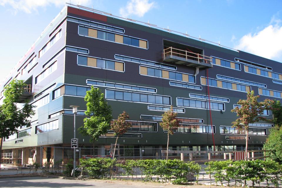 Строительство здания штаб-квартиры Arla в Дании