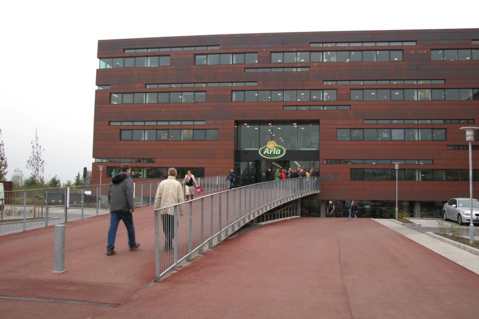 Экскурсия в штаб-квартиру Arla в Дании