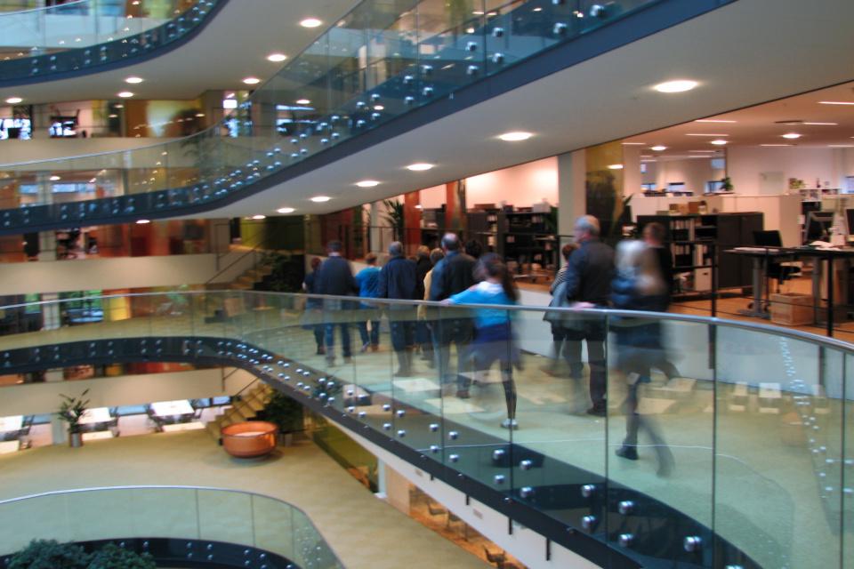 Экскурсия по этажам штаб-квартиры Arla в Дании