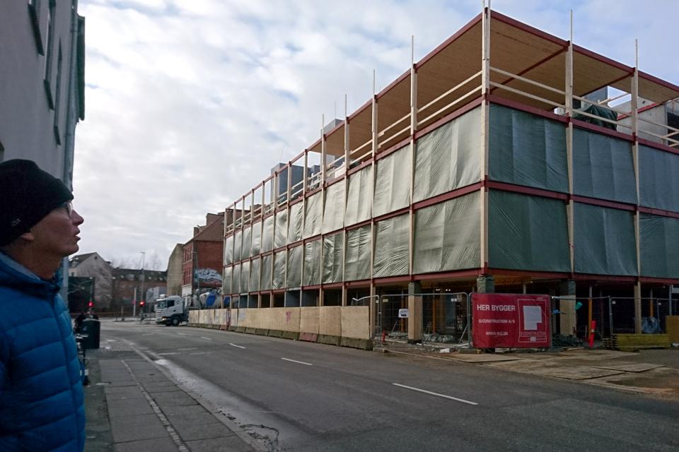 Строительство деревянного многоэтажного дома