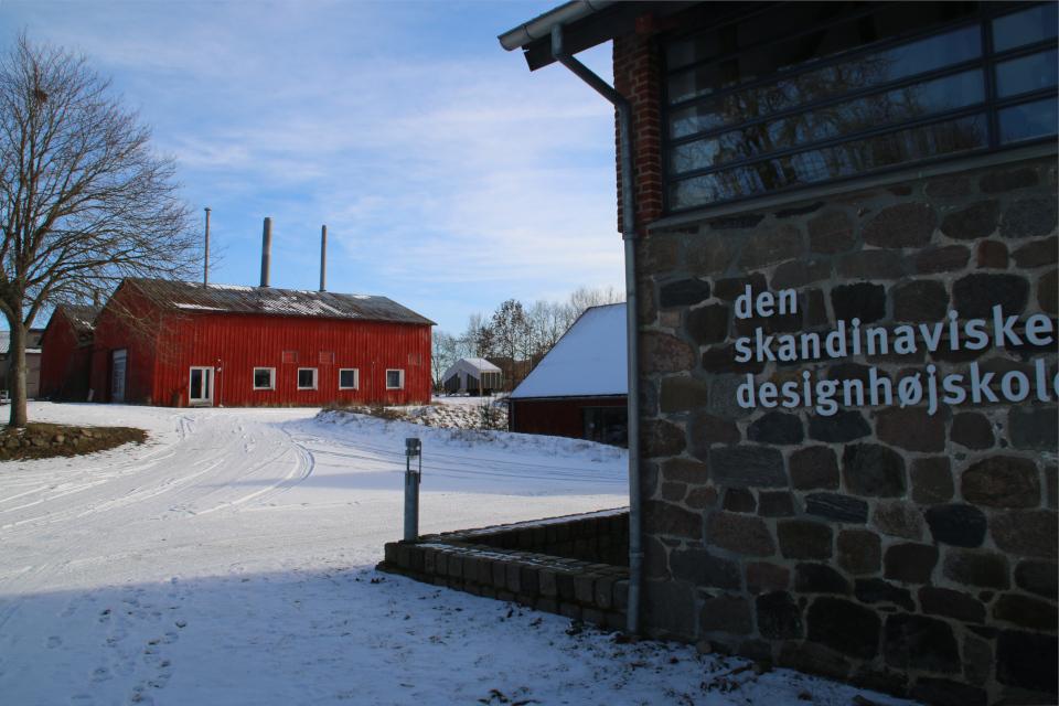 Домик на колесах в Брунсгорд, Дания. Фото 14 фев. 2021