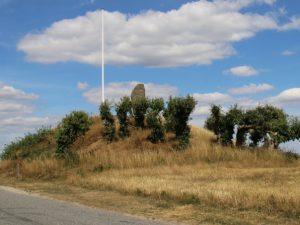 Курган с памятником Блихеру