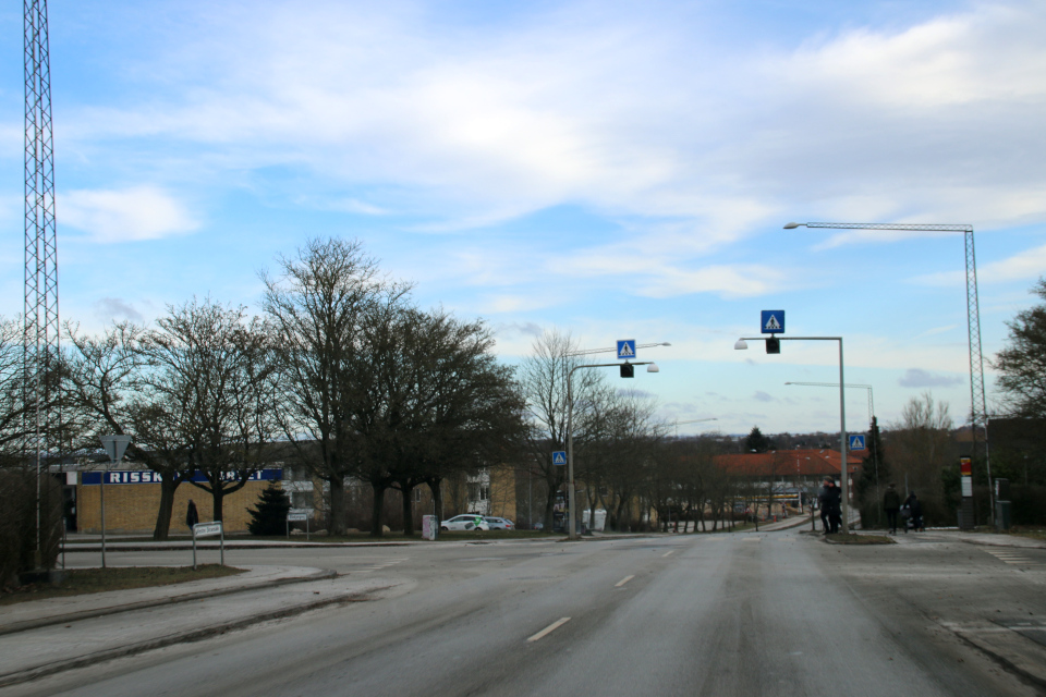 Vestre Strand alle, Риссков / Орхус, Дания 7 фев. 2021
