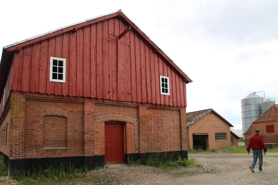 Подсобные постройки и амбары усадьбы Граубалле. Фото 7 июн. 2020, Дания