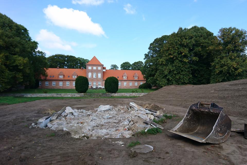 Поместье Хальд, Дания Hald Hovedgård. Фото 6 сент. 2018