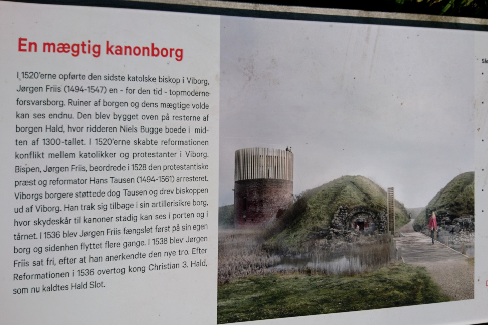 Руины Хальд, Дания / Hald slot. Фото 6 сент. 2018