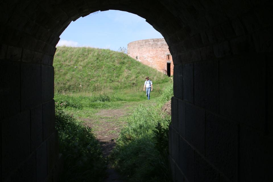 Башня. Руины Хальд, Дания / Hald borgruin. Фото 6 сент. 2018