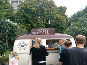Автокофейня в Дании
