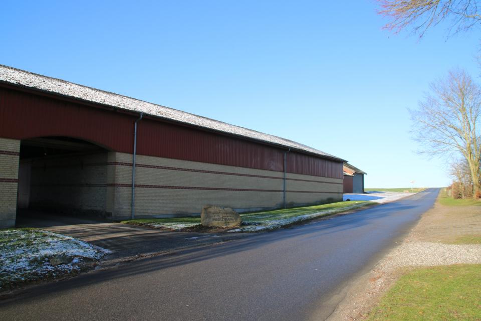 Ферма Нёлев (nølevgaard), Оддер, Дания. 31 янв. 2021