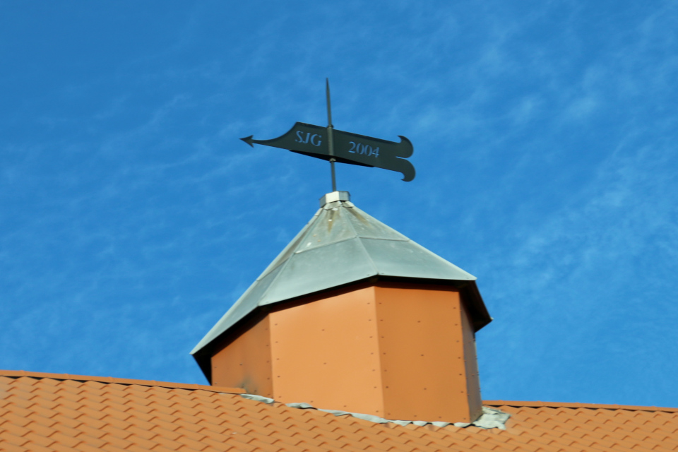 Флюгер на крыше. Поместье Герсдорффслунд
