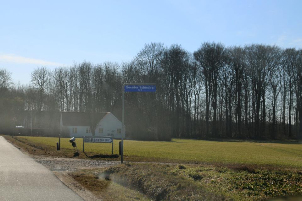 Gersdorffslundvej, Bjørnkær. 9 мар. 2021, Оддер, Дания