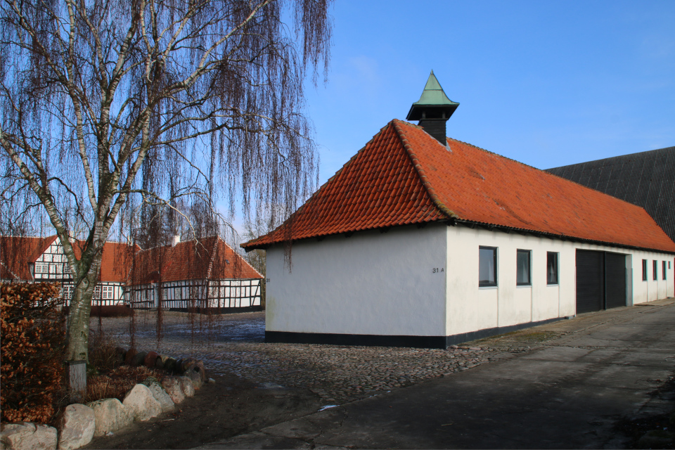 Поместье Дюбвад (Dybvad Gods), Оддер, Дания. Фото 1 фев. 2021