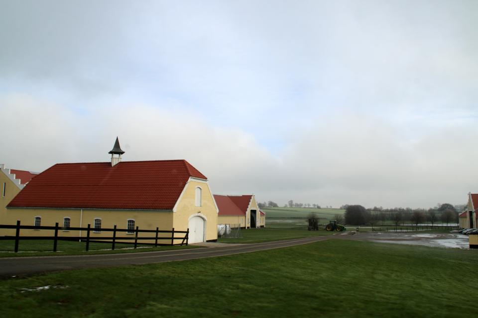 Поместье Окэр. Фото 1 фев. 2021, г. Оддер, Дания