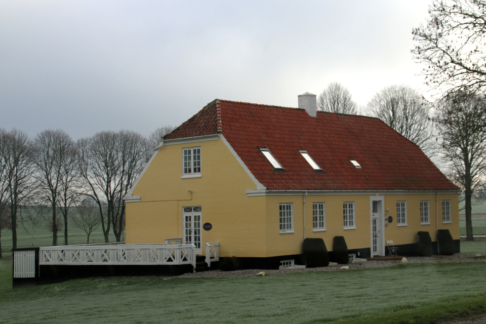 Жилой дом поместья Окэр. Фото 1 фев. 2021, г. Оддер, Дания