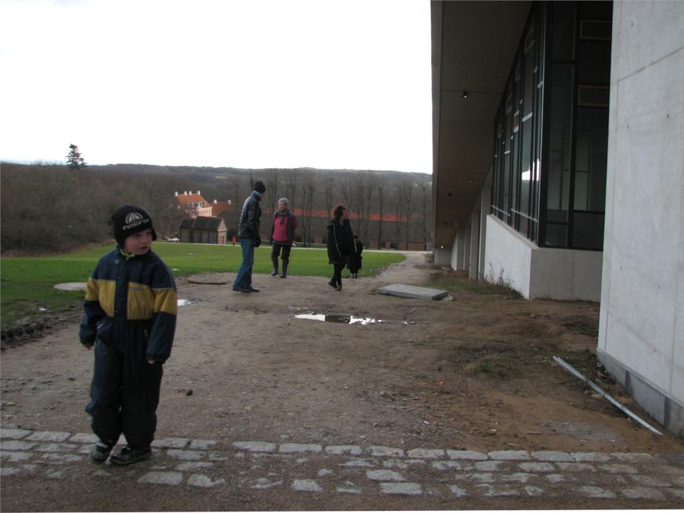 Новый музей Мосгорд (MOMU) в процессе строительства