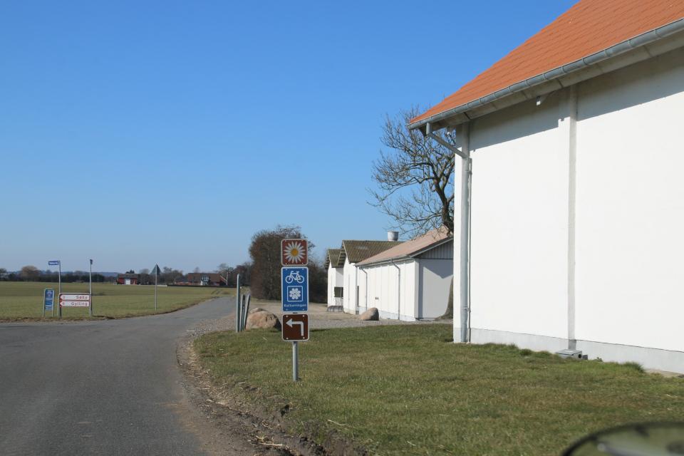Велосипедный маршрут и национальный маршрут