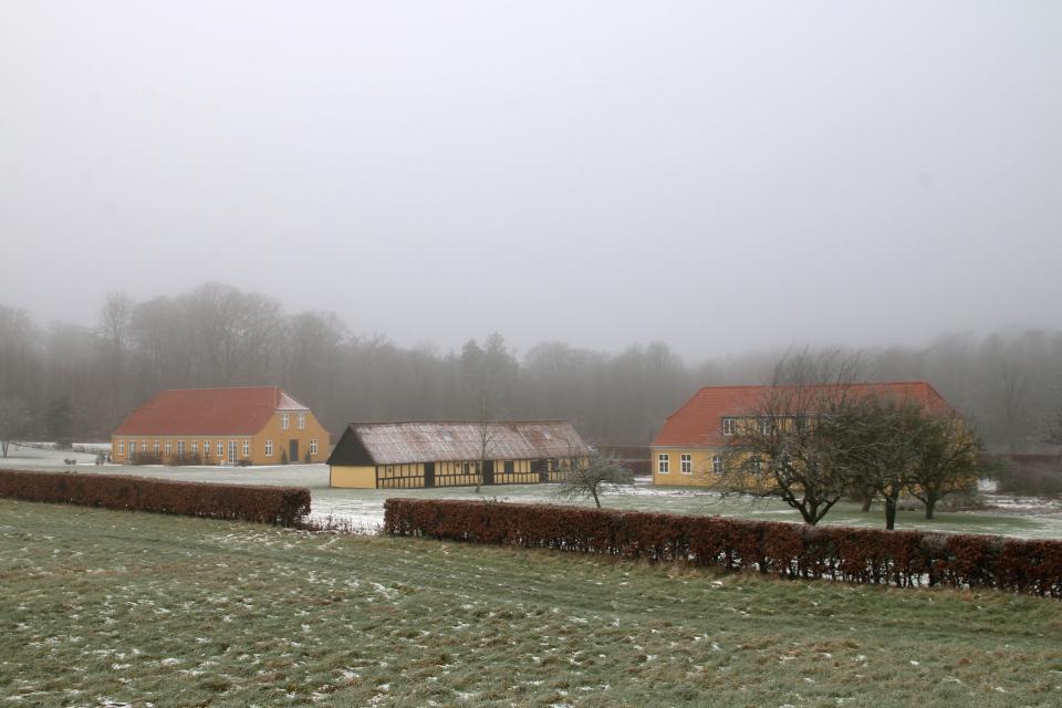 Поместье Ратлусдаль (Rathlousdal Gods), Дания. 1 фев. 2021