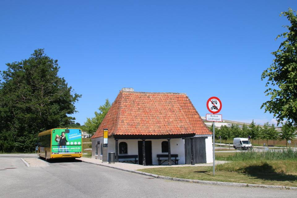 Автобусная остановка. Фото 26 июн. 2020, Мосгорд, Дания