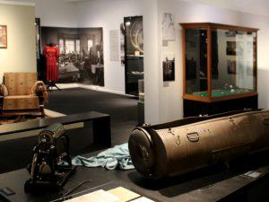 Выставка оккупации Дании в музее Скиве