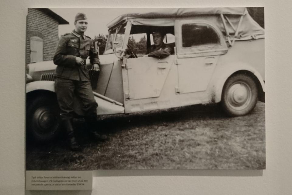 Немецкие солдаты. Выставка оккупации Дании в музее Скиве