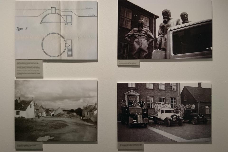 Противогаз. Выставка оккупации Дании в музее Скиве. Фото 13 авг. 2020