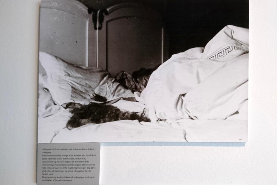 Обрезанные волосы, 1945, Дания. Музей Скиве. Фото 13 авг. 2020