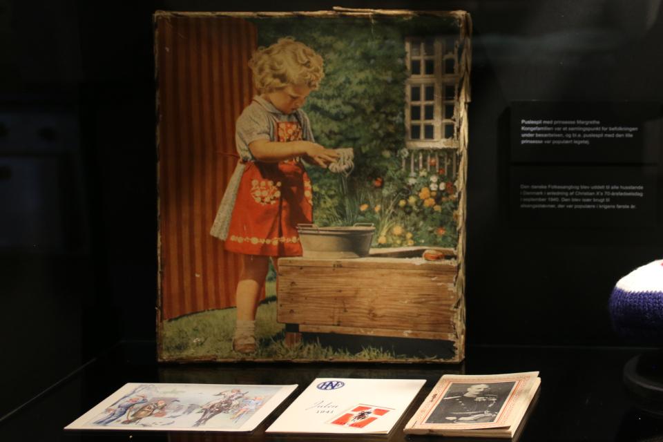 Принцессе Маргрете. Выставка оккупации Дании в музее Скиве