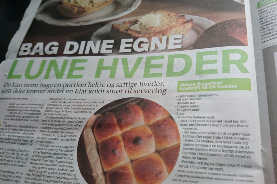 День молитвы в Дании, сдобные булочки - рецепт. 29 апр. 2021