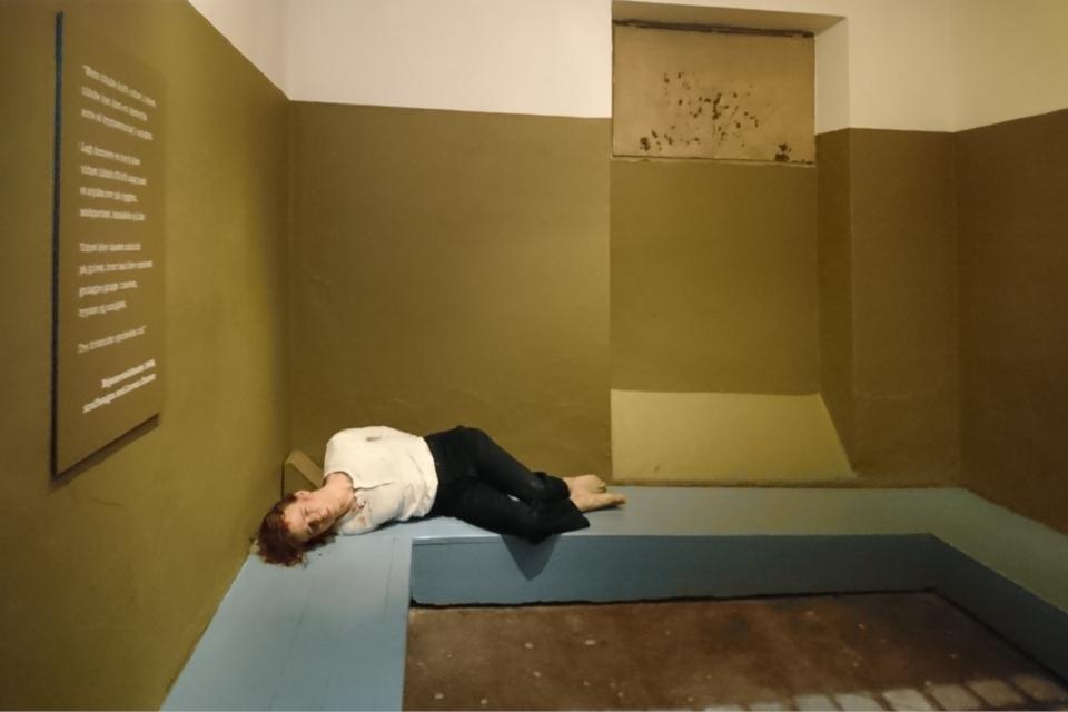 Камера пыток в музее окупации Дании. Орхус. 18 нояб. 2020