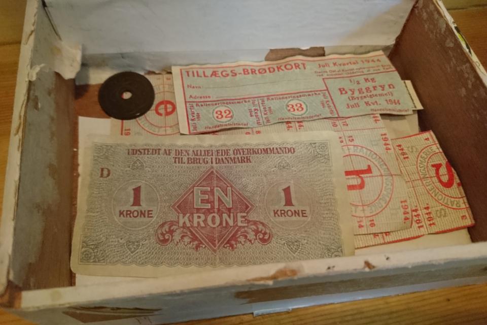 Талоны. Музей оккупации Дании в Орхусе. 18 нояб. 2020