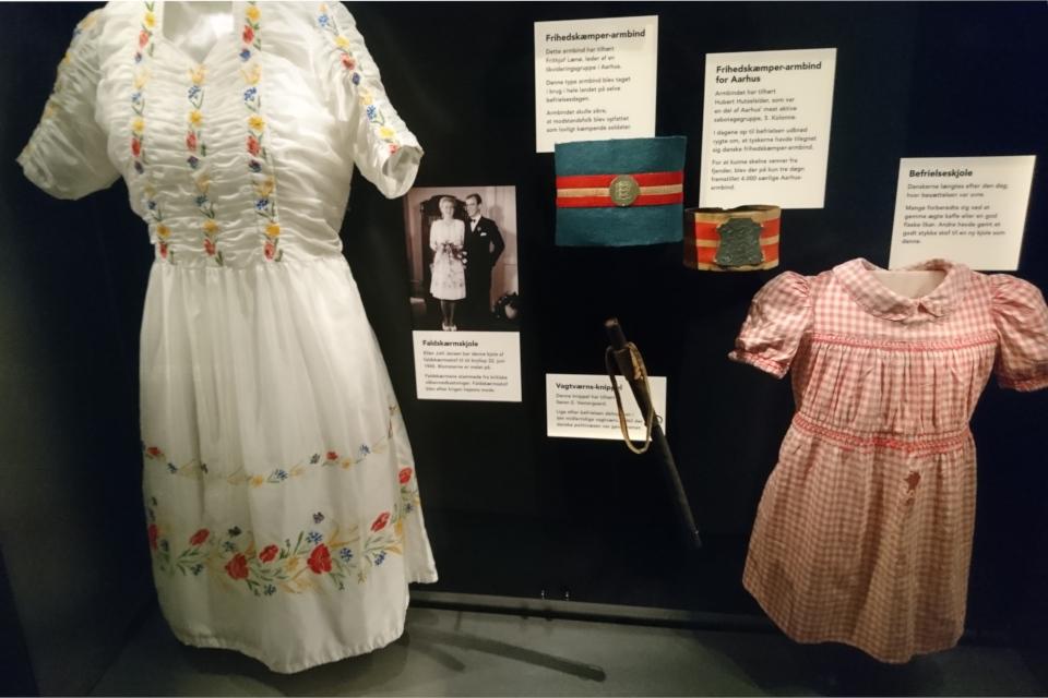 Платье из парашюта. Музей оккупации. 18 нояб. 2020