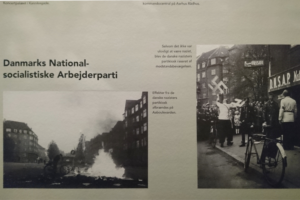 DNSAP. Музей оккупации Дании в Орхусе. 18 нояб. 2020