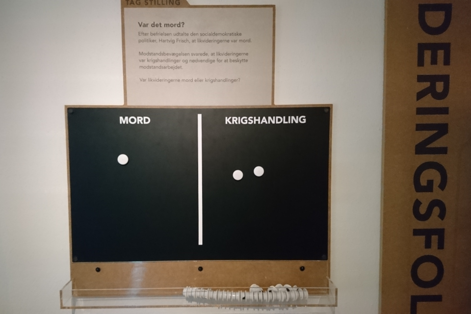 Музей оккупации Дании в Орхусе. 18 нояб. 2020