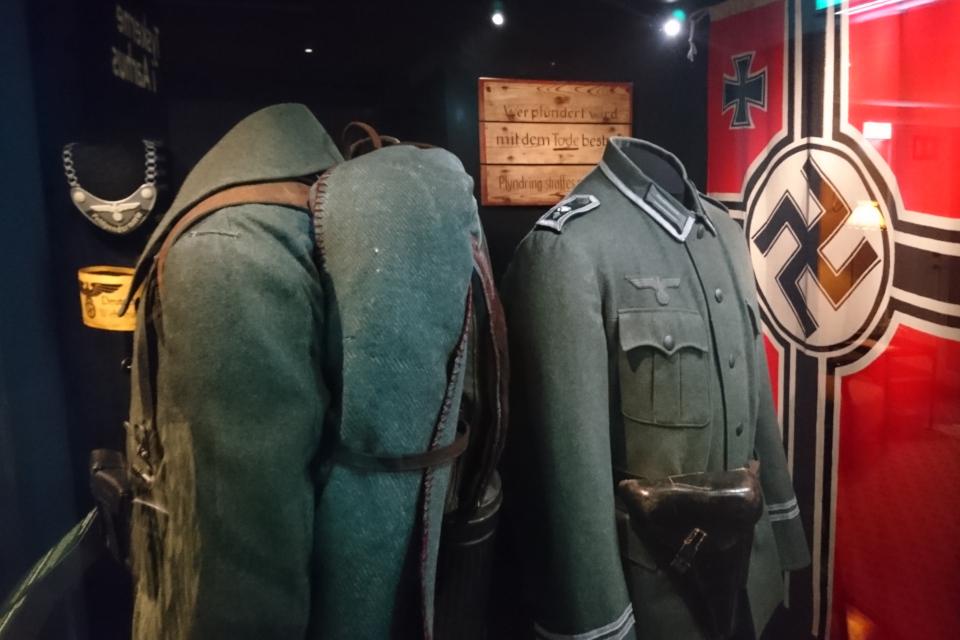 Одежда немецких солдат. Музей оккупации Дании. 18 нояб. 2020