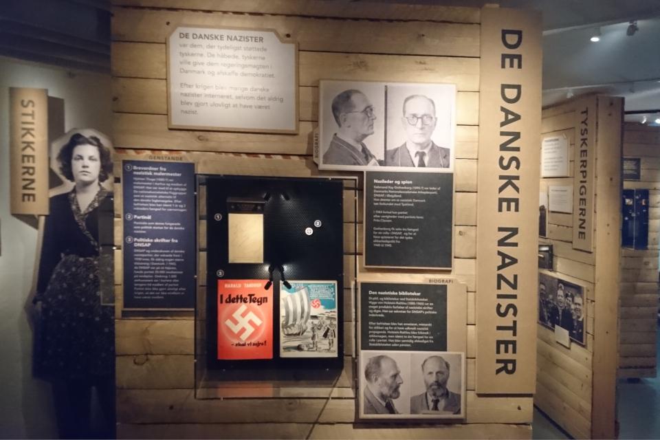Датские нацисты. Музей оккупации. 18 нояб. 2020