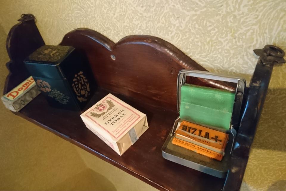 Табак. Музей оккупации Дании в Орхусе. 18 нояб. 2020