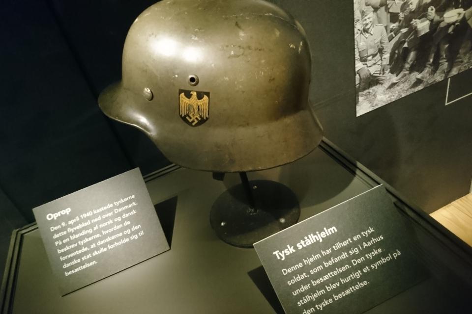 Музей оккупации Дании в Орхусе, Дания. Фото 18 нояб. 2020