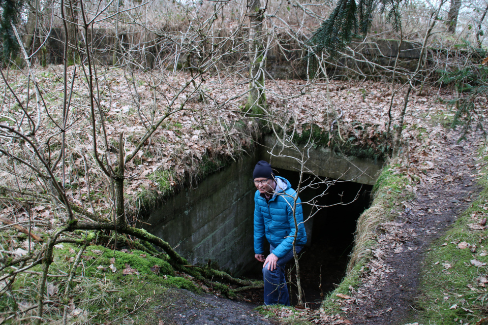 Подземный бункер летного поля Рю, Дания. Фото 21 фев. 2021