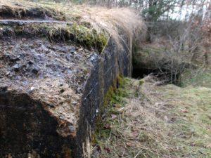 Немецкий бункер летного поля Рю