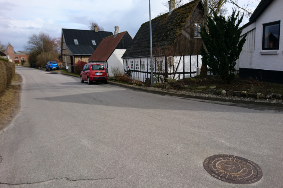 Фахверк. Ольструп / Ålstrup, Дания. 14 мар. 2021