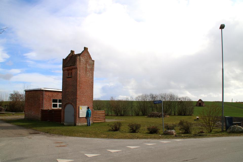 Трансформаторная подстанция, Ольструп, Дания. 14 мар. 2021
