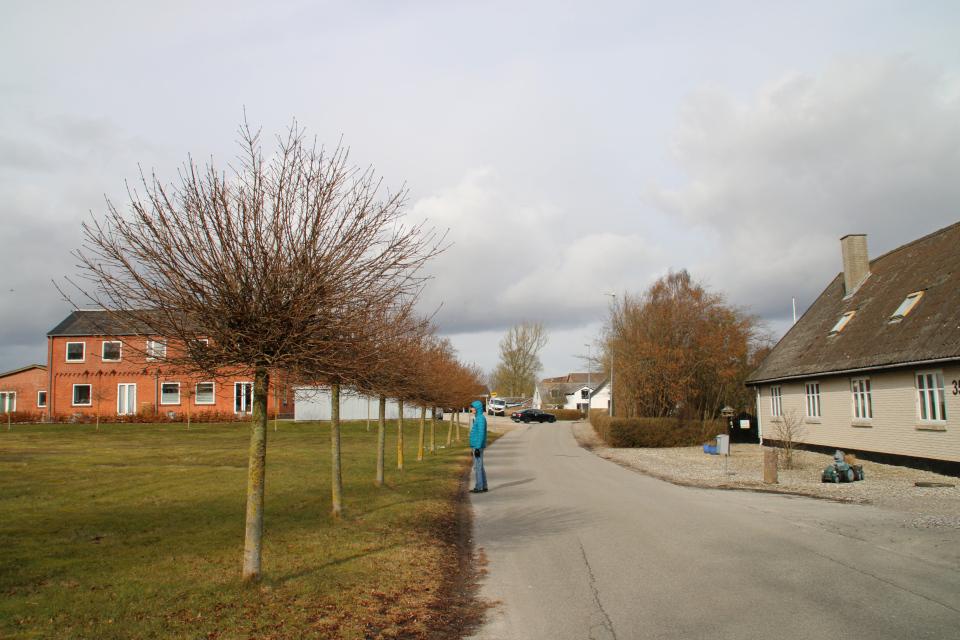 Школа. Ольструп / Ålstrup, Дания. 14 мар. 2021