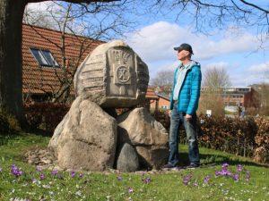 Памятный камень освобождения Дании в Хольме