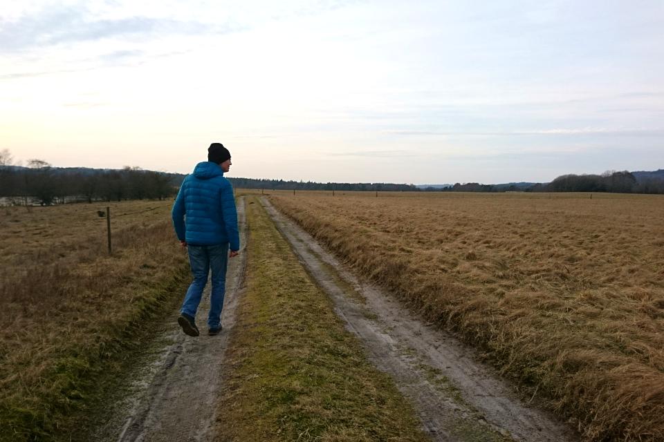 Место бывшего летного поля Рю, Дания. Фото 21 фев. 2021