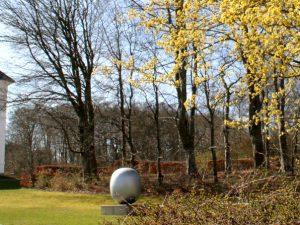 Суперъяйцо в парке Марселисборг