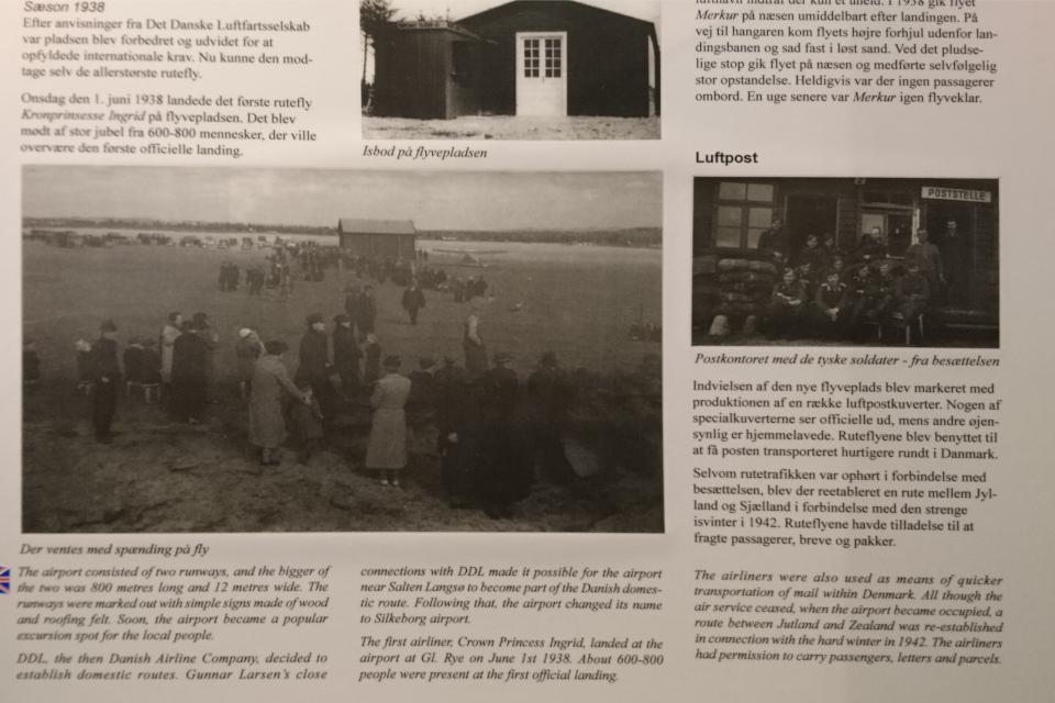 Старые фотографии, запечатлевшие летное поле до начала войны