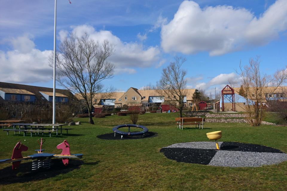 Детскаа площадка в Хондвэркепаркен, Дания. 30 мар. 2021